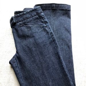 Theory Jeans flare leg blue wash size 00